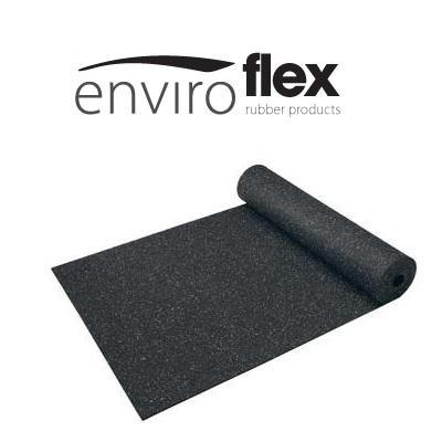 Enviroflex levert betrouwbare en kwalitatief hoge rubbergranulaat ondervloeren van Regupol. Met name Regupol 6510 en de 7210 zijn leverbaar op rol, in stroken en als tegels. Multifunctioneel goed!