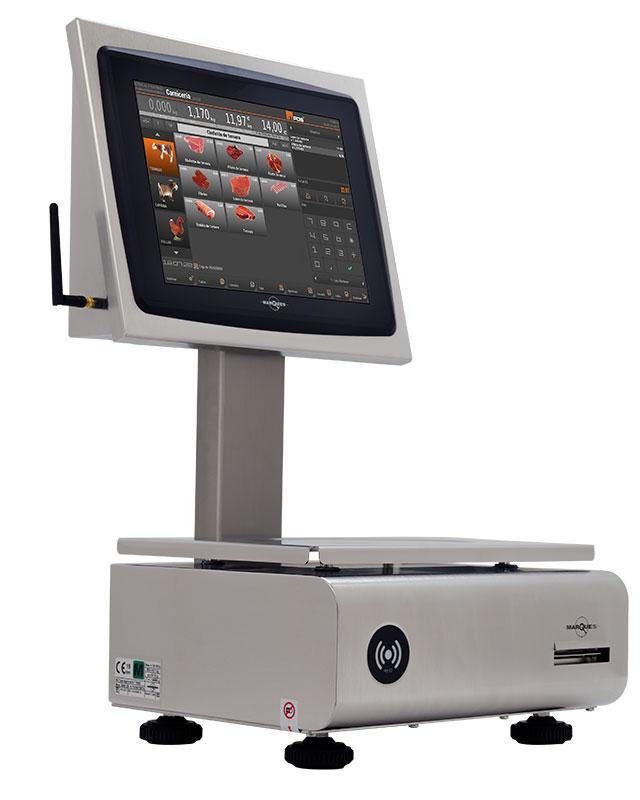 """Balanza con tecnología touch 12.1""""     http://balanzasmarques.es/products/details.php?id=191"""