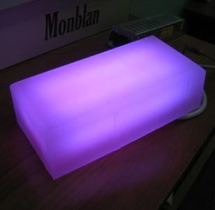 плитка со светодиодной подсветкой для ландшафта, входов в здание. специальный высокопрочный композит