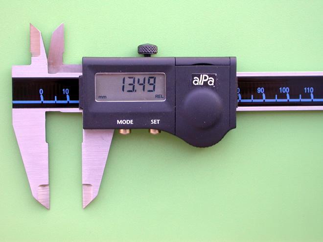 ALPA Calibro digitale
