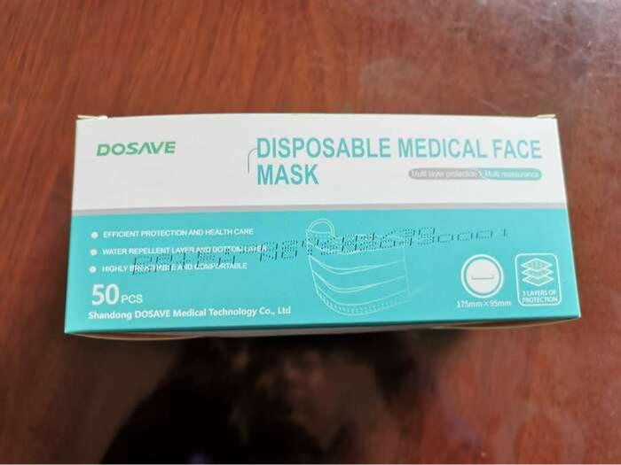 Medizinische Mundschutz Maske - TYP II TÜV zertifizierte