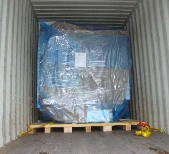 Exportpackaging such as VCI packaging and container lashing