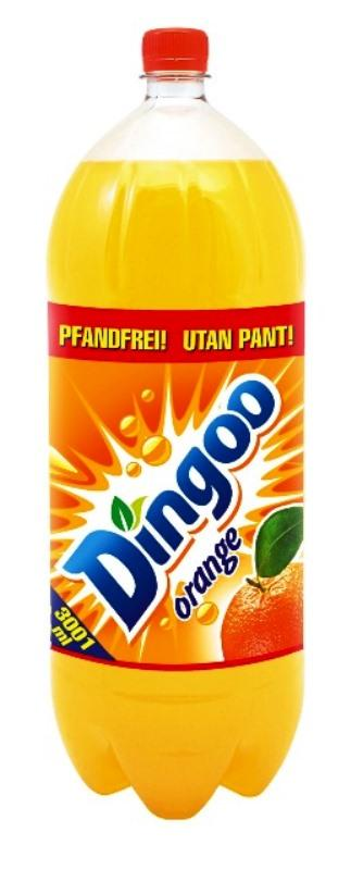 Dingoo Orange, carbonated, 3 L