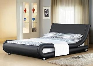 MALLORCA FAUX LEATHER BED