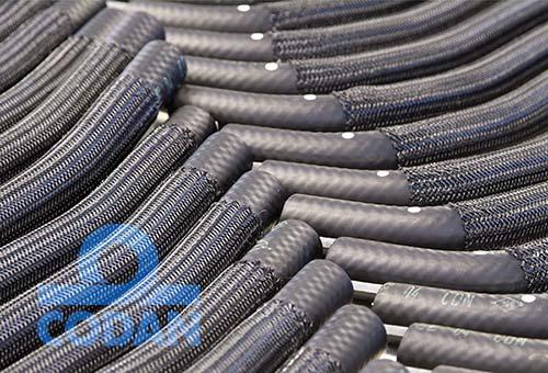 Specialist production of automotive hoses.