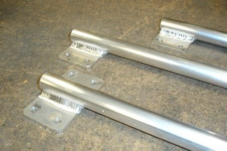 Soldadura de piezas de aluminio en serie a TIG