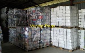 We produce cleaning cloths. We export 100 tons per month.