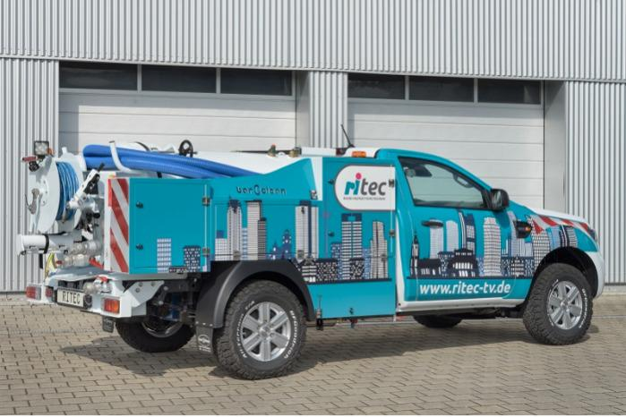 Hydrocity 3,5 t - Saug-und Spülfahrzeug