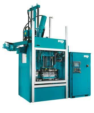 Compact Multi-Station Injection Molding Machine