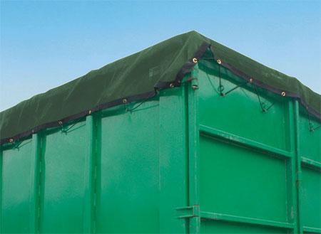 Containerabdeckung