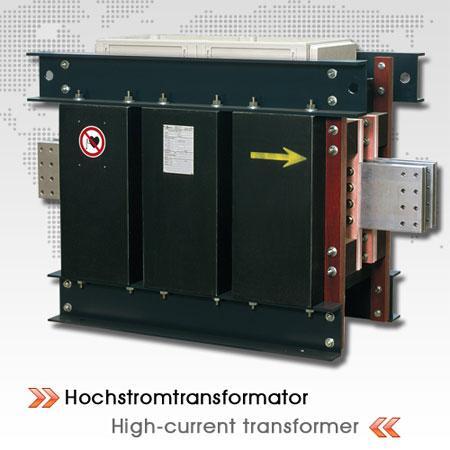 High current transformer