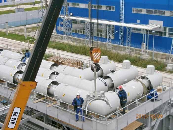Dnestrovskaya Pump-storage plant, hydroelectric set completion No. 2, No. 3,2013