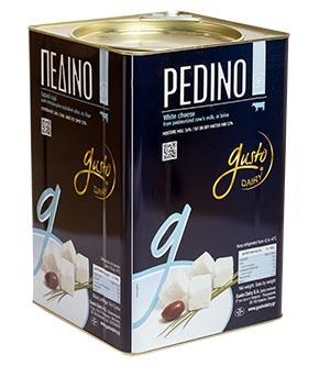 White product made out of fresh cow's milk. Pedino is suitable on a daily basis to accompany the main dishes, can be used in many recipes as well as in salads.