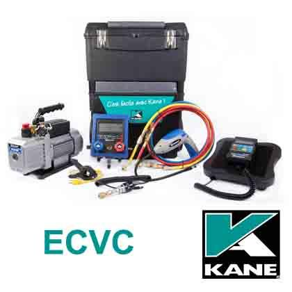 ECVC, Instruments de contrôle pour les climatisation. Manifolds KANE.