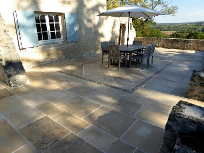 French limestone