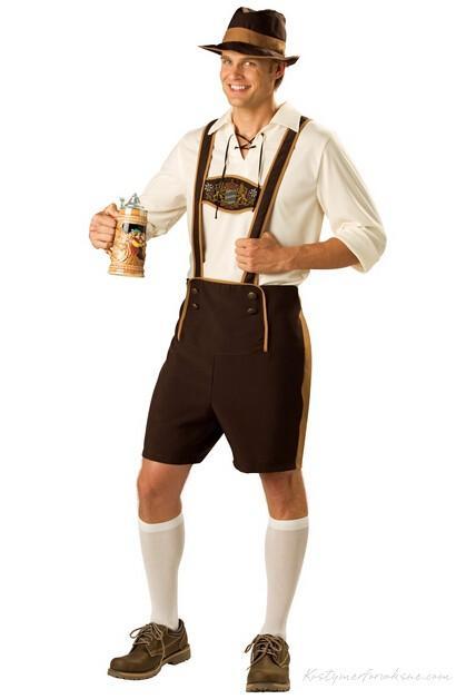 Tyroler Kostume Oktoberfest Lederhosen