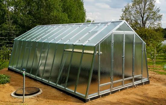 Greenhouse Steel - 3m width