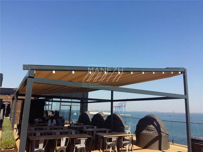 This is our developed Freestanding Pergola M-Ocean Complex S. Ask for more info...