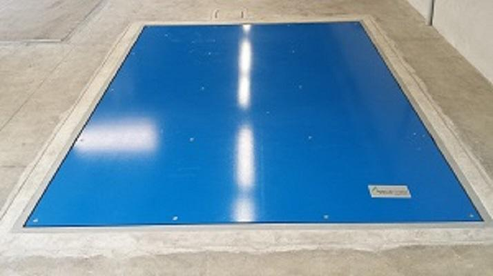 Weighing platforms of varying capacity, measures and standard forms or created for specific customer needs.Structure weighing welded tubular steel extremely resistant, painted or stainless steel.