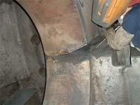 tecnica di lavorazione di acciaio inox