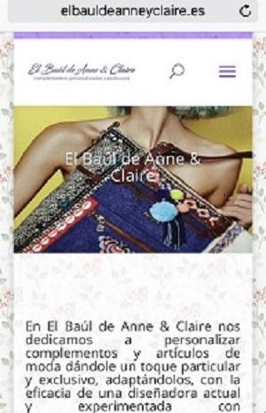 www.elbauldeanneyclaire.es
