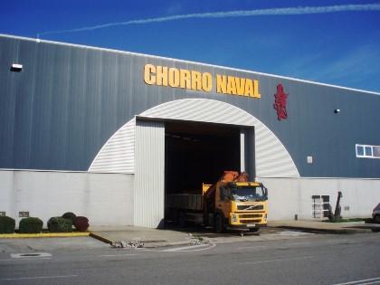 Instalaciones de la empresa en el puerto de Vigo