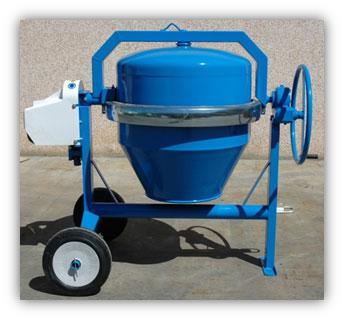 This concrete mixer is the smallest of Azzurra SRL production. Capacity available from 200lt to 350lt. Engine: electric, diesel, petrol.   Model avalible without engine.
