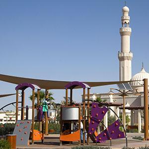 Este juego de la gama Fusión ha sido instalado en Dubai.
