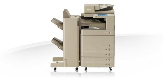 Multifunzione a colori da 35 P.P.M. Copy+ printer di rete+ scanner di rete+ fax. Macchina ideale per gruppi di 10-15 persone che sviluppano un volume mensile di almeno 15-20.000 copie/stampe.