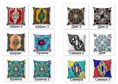 print design for the manufacture of pillows designed by artist Olga Lerman.Size 38 * 38 cm, also other sizes can be