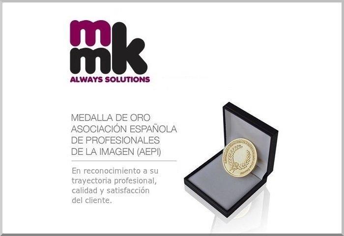 MMK recibe la Medalla de Oro de la Asociación Española de Profesionales de la Imagen