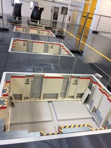 Fabrication et installation d'une structure de fosse et table élévatrice pour l'aéronautique