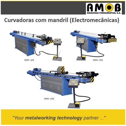 Tube Division - Mandrel benders Electromechanical