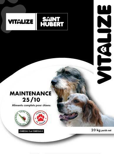 croquette chien maintenance vitalize