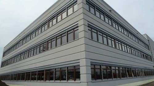 Gebäude m. Designfassade