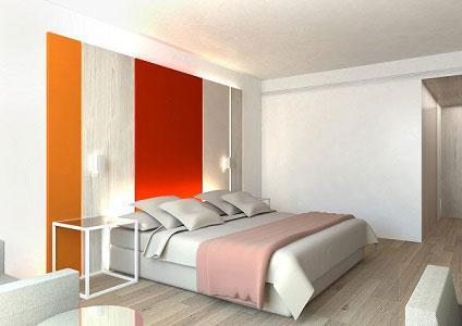 Proyecto piloto habitación hotel