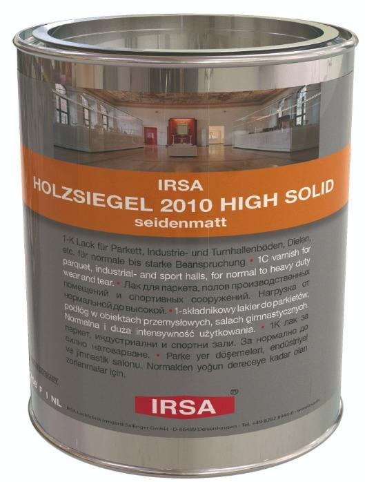 IRSA Holzsiegel (Wood Sealer) 2010 VOC High Solid, silky-mat