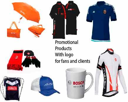 Tshirts, promotional Bags, Cups