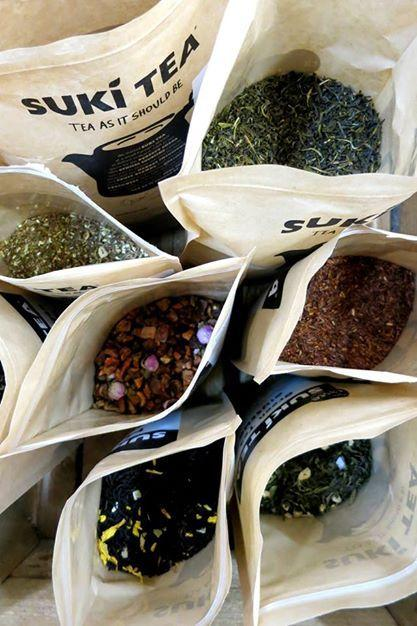 Just a few of our beautiful Teas - visit www.suki-tea.com for more details!