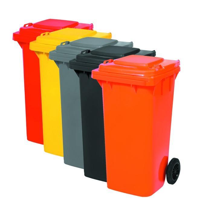 Garbage Bin 120L, Colored
