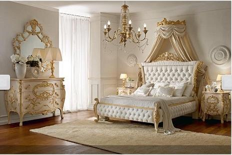 Классическая спальня Италия