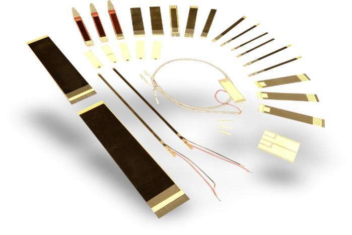 Piezo benders, actuators, sensors