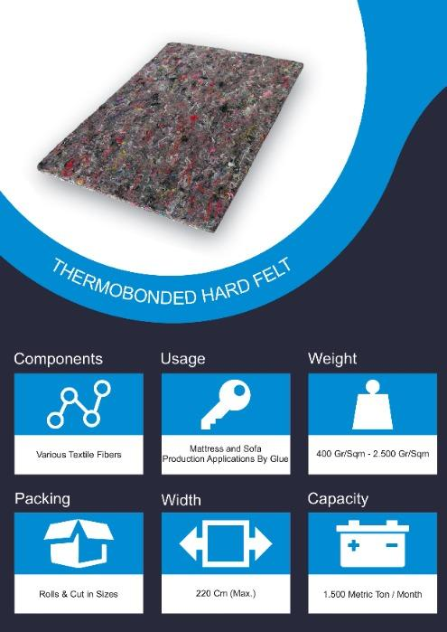 Thermobonded Hard Felt