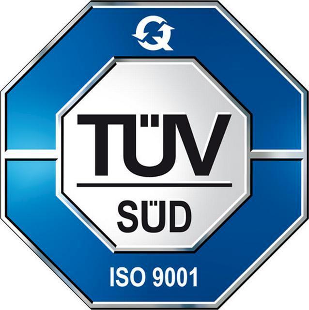 TÜV Rheinland certifie le processus de fabrication de l'entreprise Arapack avec la Norme ISO 9001:2008