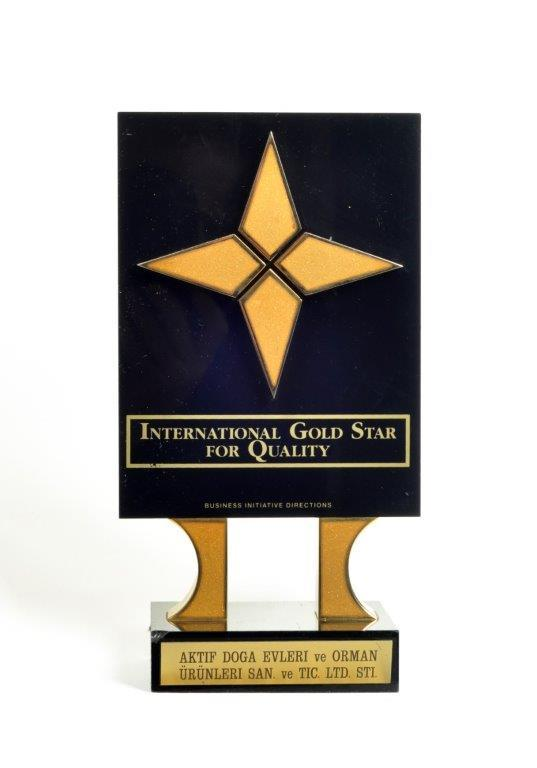 THE INTERNATIONAL GOLD STAR FOR QUALITY