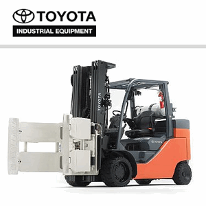 Toyota 8-Series Internal Combustion Forklift Large Capacity