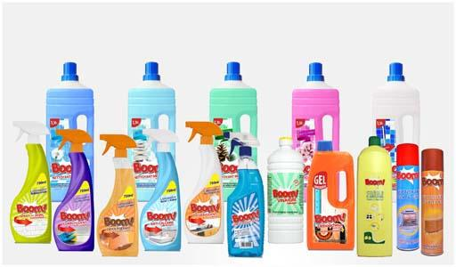 BOOM!gama completa productos limpieza del hogar.