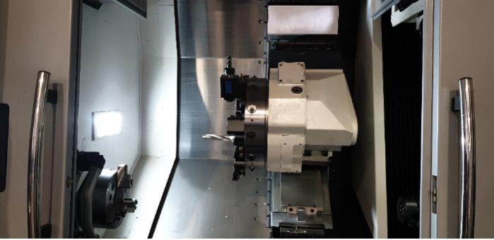 Turning & Milling 4 axis_Okuma Genos L300E-M-e