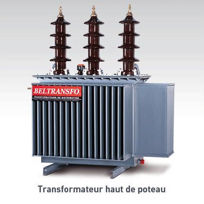 Transformateur type H61                                   50 - 100 - 160 kVA