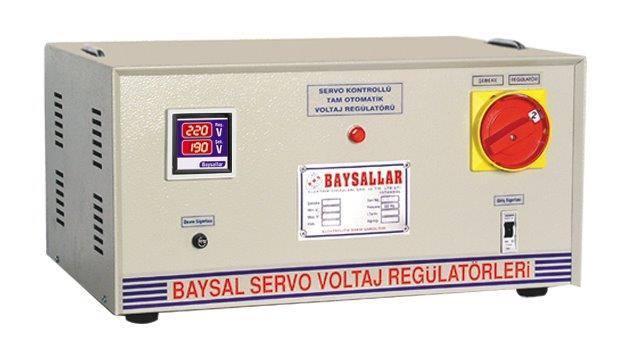 Servo voltage regulator